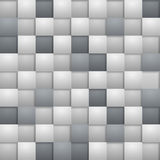 Grey square blocks Stock Images