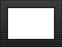 Grey Squares Frame Royalty Free Stock Image