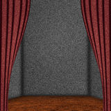 Grey stage background Royalty Free Stock Photo