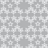 Grey stars Royalty Free Stock Photo