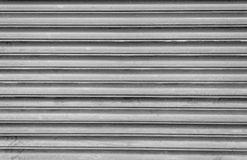Grey Steel Shutters Lizenzfreies Stockfoto