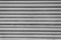 Grey Steel Shutters Royalty Free Stock Photo