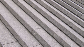 Grey steps. That are going down Royalty Free Stock Photo