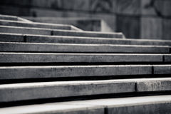 Grey steps Stock Photography