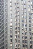 Grey Stone Block Office Tower Stock Foto's