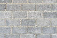 Grey stone bricks wall texture or background. Grey stone bricks wall surface texture or background Stock Photography