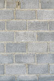 Grey stone bricks wall texture or background Royalty Free Stock Photography