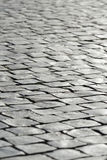 Grey stone cobblestone background paving Royalty Free Stock Photo