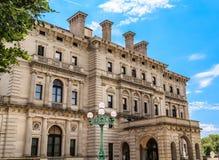 Grey Stone Mansion fotos de stock