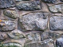 Grey Stone Outside Wall Fotos de archivo libres de regalías
