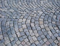 Grey stone pavement Royalty Free Stock Photography