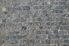 Grey stone walk Royalty Free Stock Images