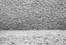Grey stone wall Royalty Free Stock Photos