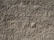 Grey stone wall Stock Images
