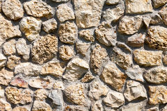 Grey stone wall as background Royalty Free Stock Image