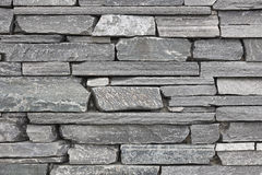 Grey stone wall background. Horizontal stacked. Concrete Royalty Free Stock Photography