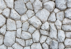 Grey stone wall background Royalty Free Stock Images