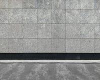 Grey Stone Wall stock image
