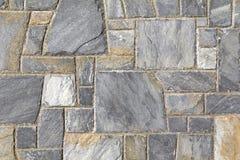 Grey stone wall Royalty Free Stock Photo