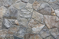 Grey stone wall Stock Image
