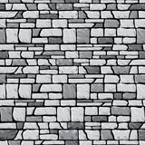 Grey stone wall seamless Stock Photo