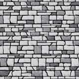 Grey stone wall seamless Stock Photo