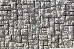 Grey stone wall Royalty Free Stock Photo