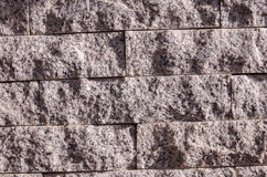 Grey stone walls Stock Images