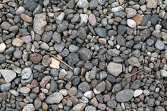 Grey stones stock photography