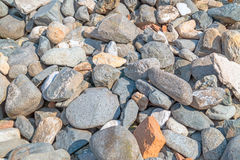 Grey stones as background Royalty Free Stock Photo