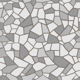 Grey Stones Background Filigrane sans couture de mosa?que illustration stock