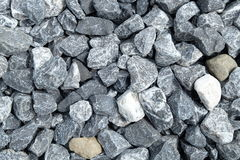 Grey stones background Stock Photos