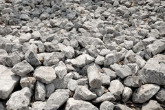Grey stones and rocks texture background stock photo