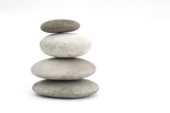 Grey stones Stock Photo