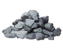 Grey stones on white background. High resolution photo. Grey stones on white background. High resolution photo stock photography