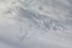 Grey storm clouds. Royalty Free Stock Photo