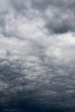 Grey Storm Clouds sinistre Images libres de droits