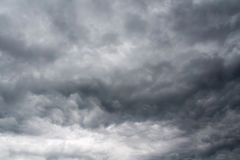 Grey Storm Clouds sinistre images libres de droits