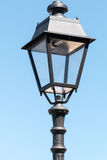 Grey street lamp Royalty Free Stock Image
