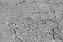 Grey stucco wall. Background texture Stock Photography