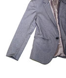 Grey suit Stock Photography