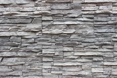 Grey surround stones, close-up. Grunge texture, background Royalty Free Stock Images