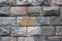 Grey surround stones, close-up Royalty Free Stock Photos