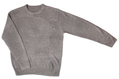 Grey sweater Stock Photography