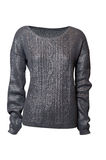 Grey sweater Royalty Free Stock Images