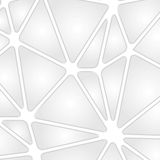 Grey tech background with geometric shapes Stock Photos