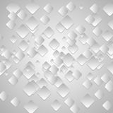 Grey tech geometrical vector background Royalty Free Stock Images