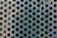 Grey Texture from Steel and Holes,Background,Pattern Stock Images