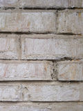 Grey textured background closeup. Gray old brick. Wall Stock Image
