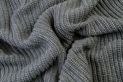 Grey textured fabric stock photo Stock Images